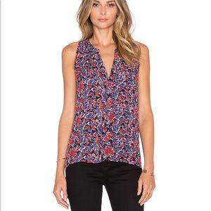 Joie Odelette Silk tank blouse